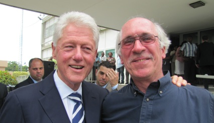 Brian Leo Treacy with Bill Clinton_web
