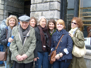 "l-r: Lisa Carol Treacy Lamberth, Maurice Francis ""Casey"" Treacy, Suzanne Elizabeth Treacy Woodside, Jane Estelle Treacy, Meghan Leigh Lamberth, Cara Louise Folk, Cynthia Louise Treacy Folk"
